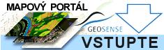 logo - mapový portál Geosense